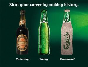 Carlsberg bottle