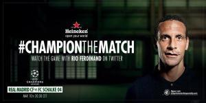 Heineken the match