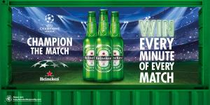 Heineken win every minute