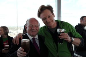 Guinness Conan O'Brien