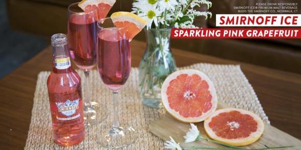 Smirnoff pink grapefruit