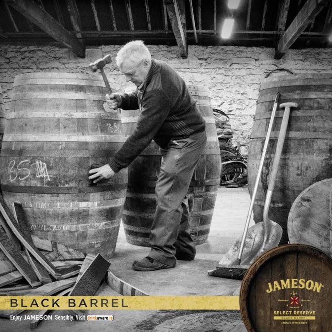 J black barrel