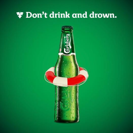 Carlsberg drink & drown