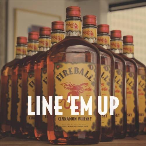 fireball line em up