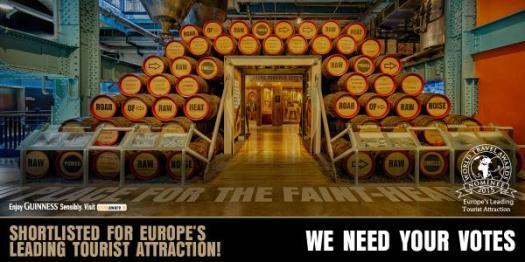 Guinness storehouse votes