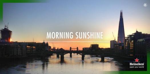 Hken morning sunshine
