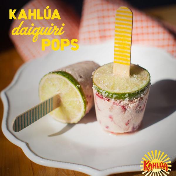 Kahlua daiquiri pops