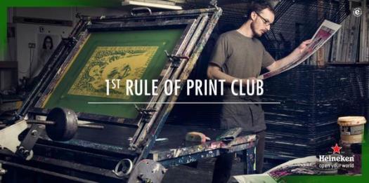 Heineken print club