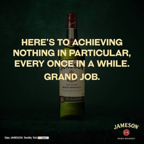 James grand job