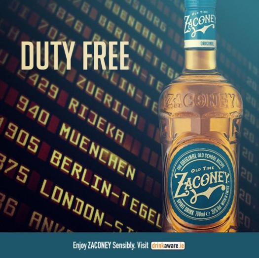 Zaconey duty free