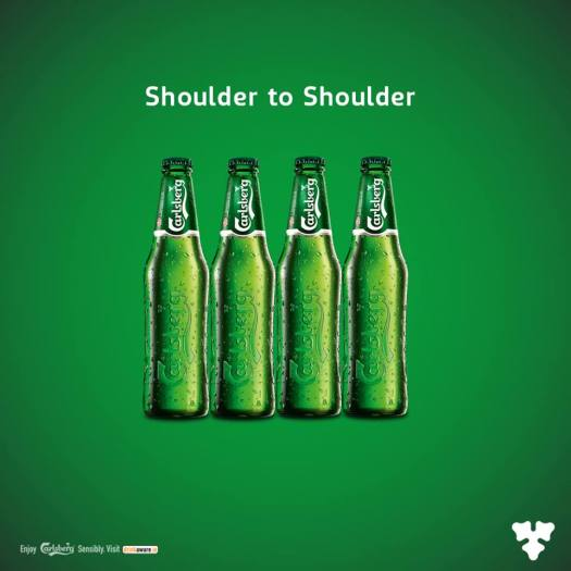 carlsberg shoulder