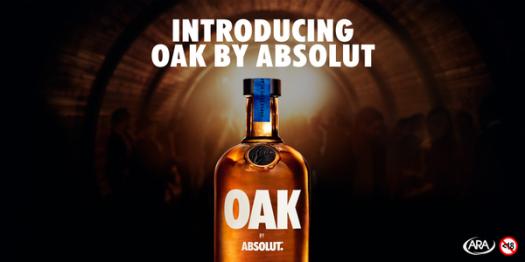 absolut oak flavour