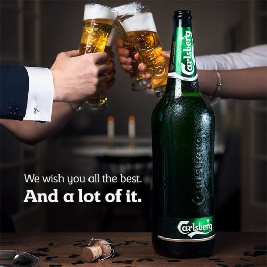 All the best Carlsberg