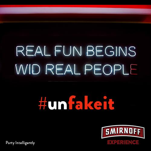 smirnoff unfake