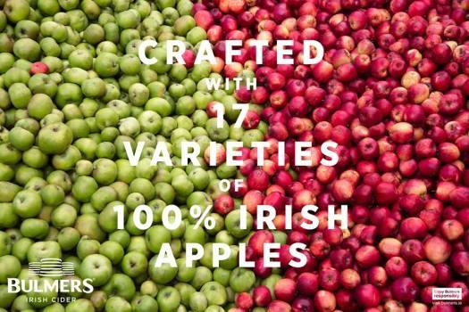 bulmers 100% irish apples