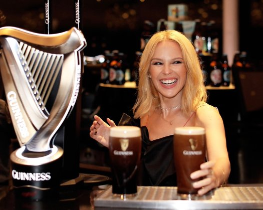 guinness kylie minogue