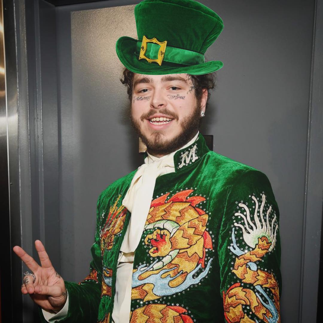 Post Malone Playing Paddy For Guinness