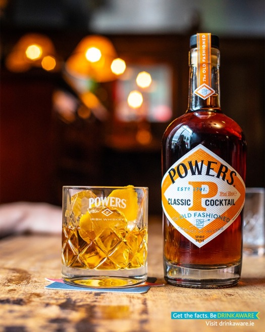 powers drinkaware old fashioned