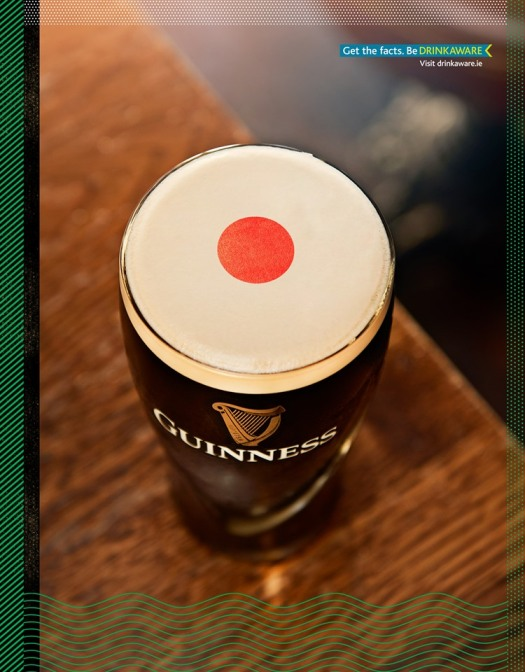 guinness drinkaware beaten by japan