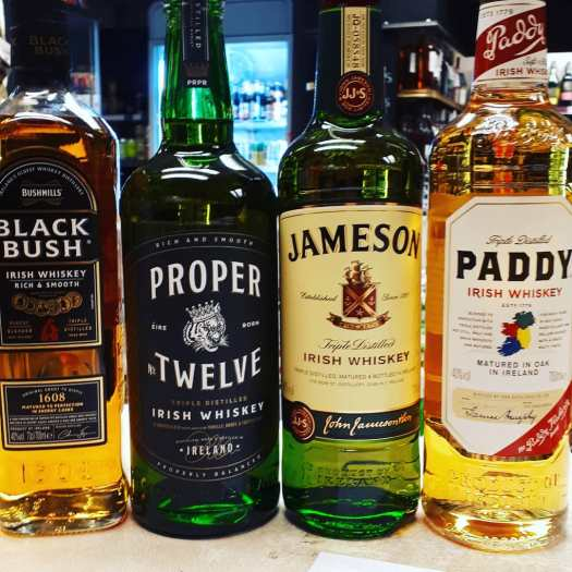 proper 12 black bush jameson paddy