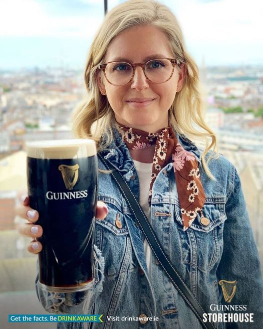 guinness storehouse drinkaware perfect pint