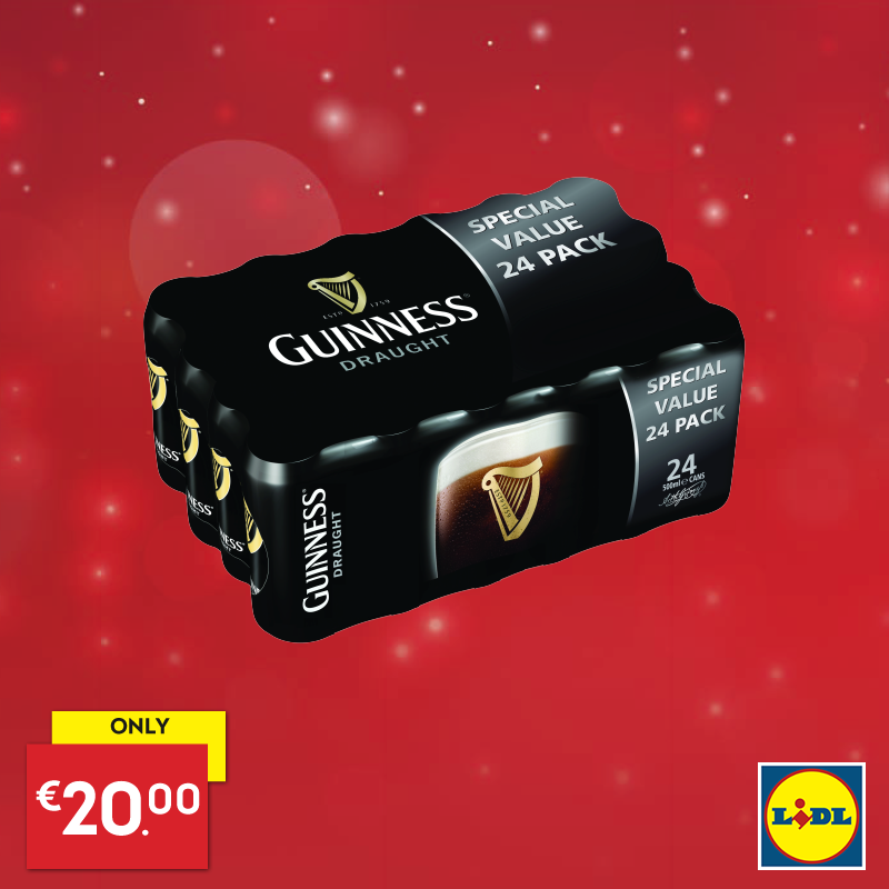 lidl guinness 24 for 20