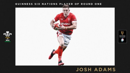 guinness 6 nations josh adams