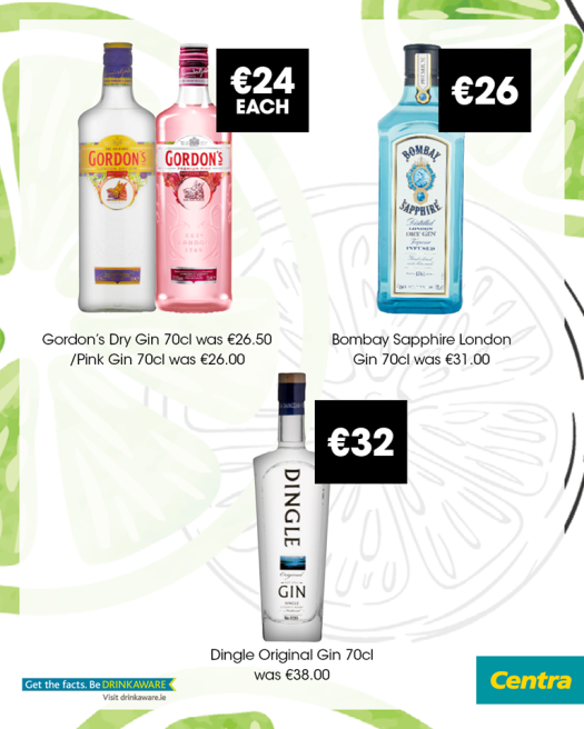 centra summer gin sale