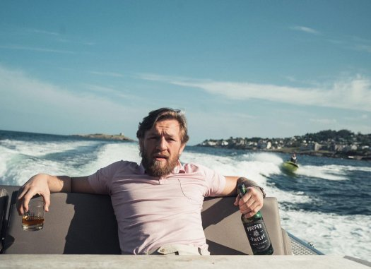 mcgregor in a boat