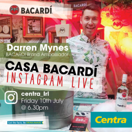 centra infamous bacardi mojito